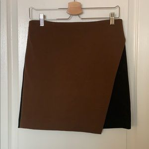 Premise Studio Asymmetrical Mini Skirt